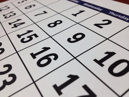 Calendario de festivos  2020 Comunidad Valenciana